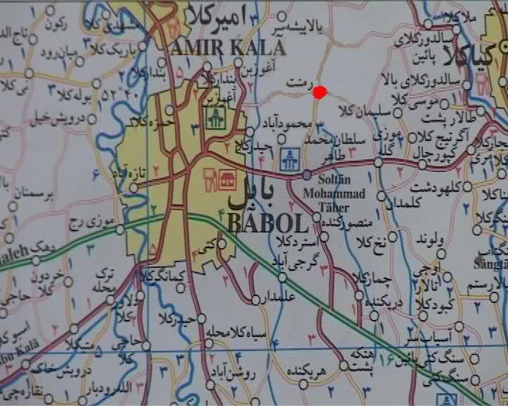 موقعیت جغرافیایی بابل
