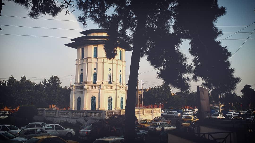 برج دیدبانی کاخ بابل